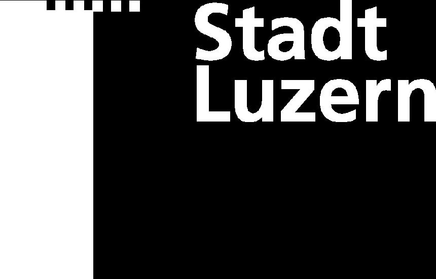 Luzern white logo
