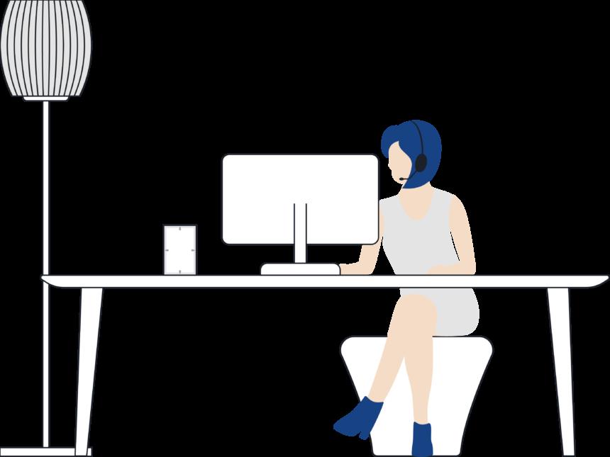 Attendant console