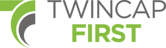 Twincap First logo
